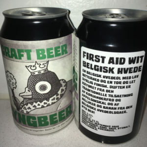 Lyngbeers First Aid Wit øl
