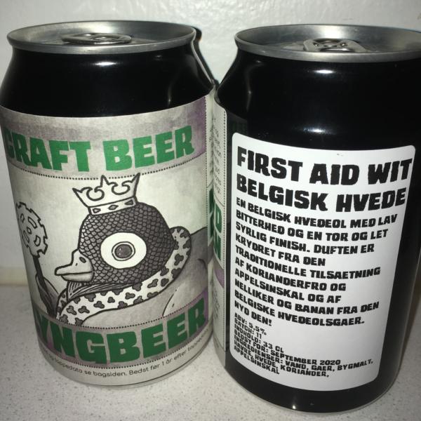 Lyngbeers First Aid Wit øl