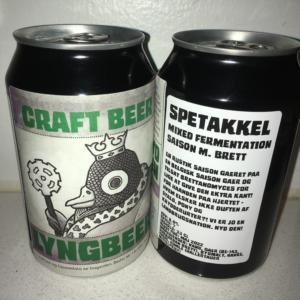 Lyngbeers Spetakkel øl