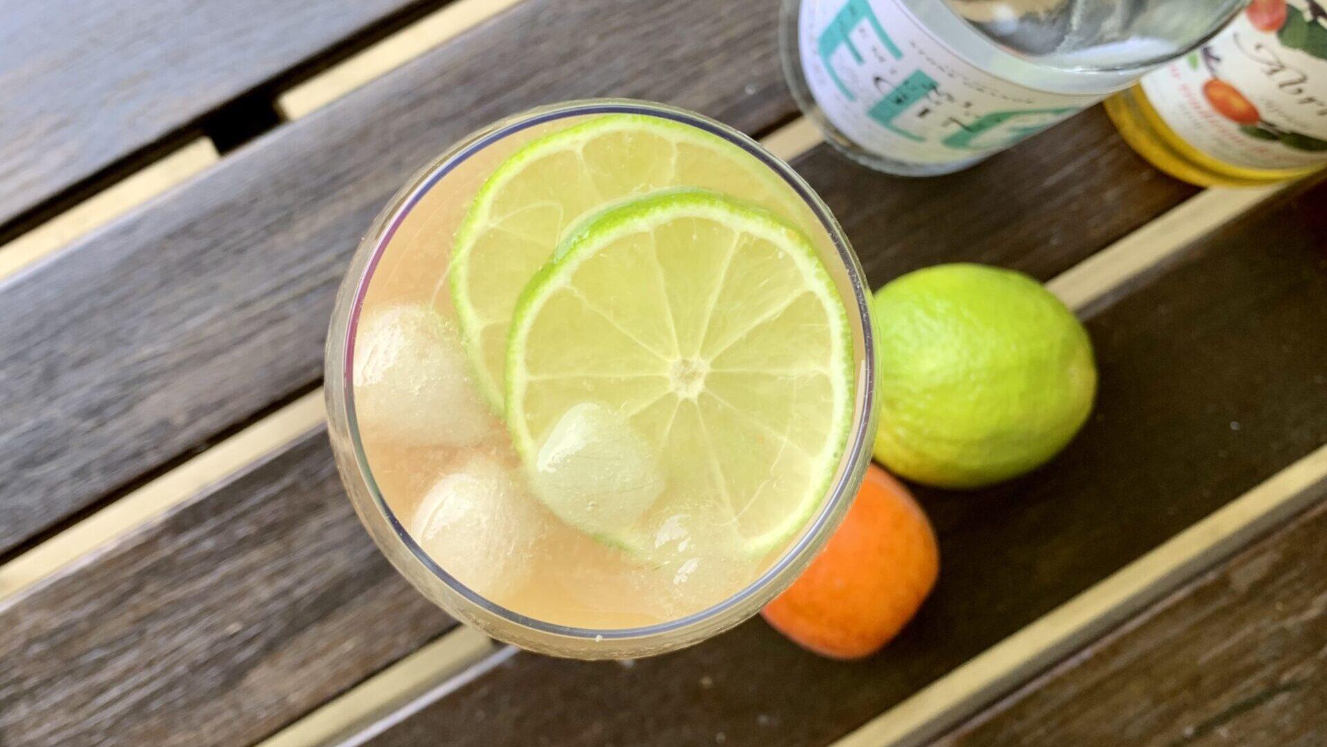 G&T med abrikos og lime