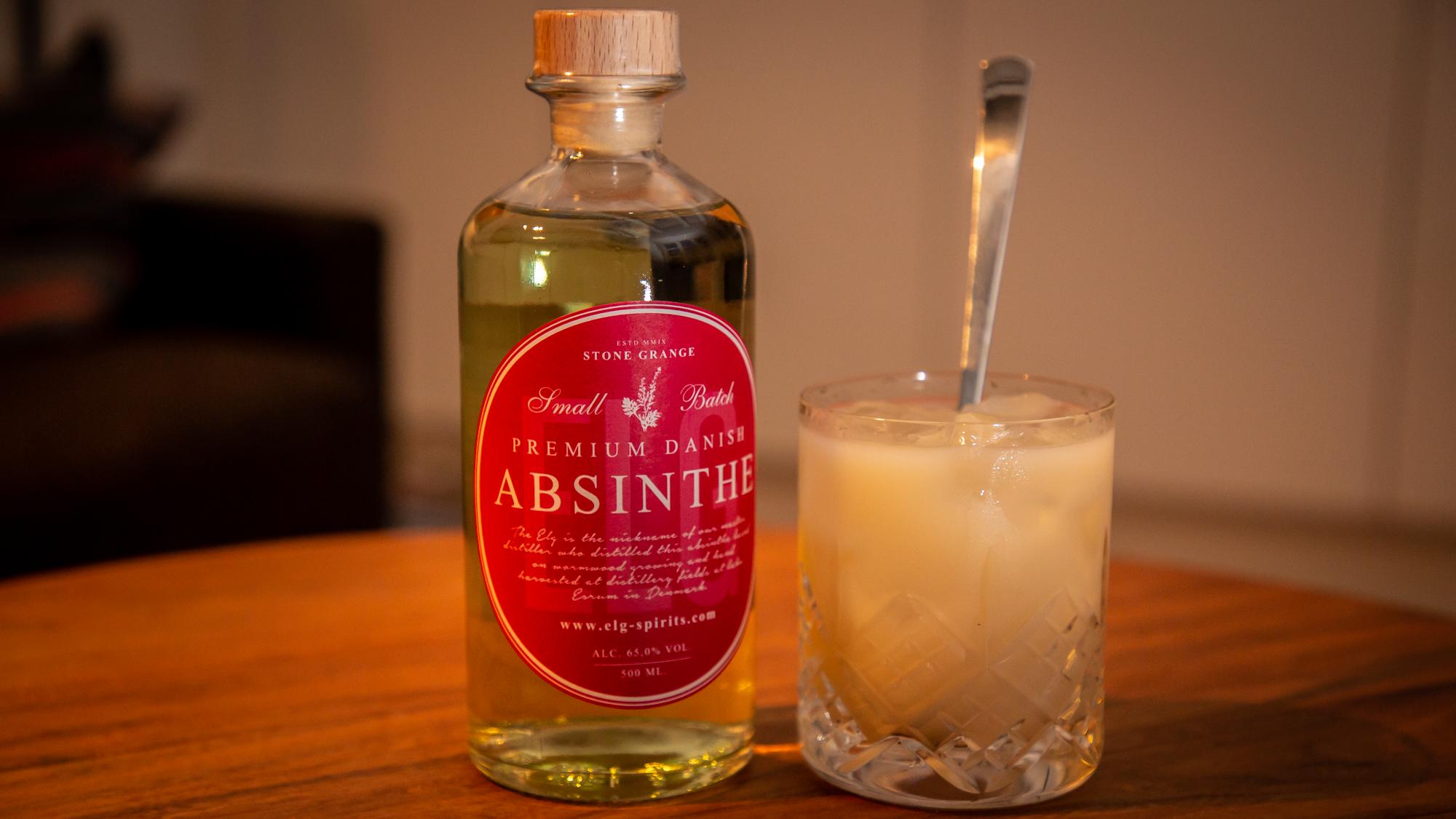 Hvordan drikkes absint?