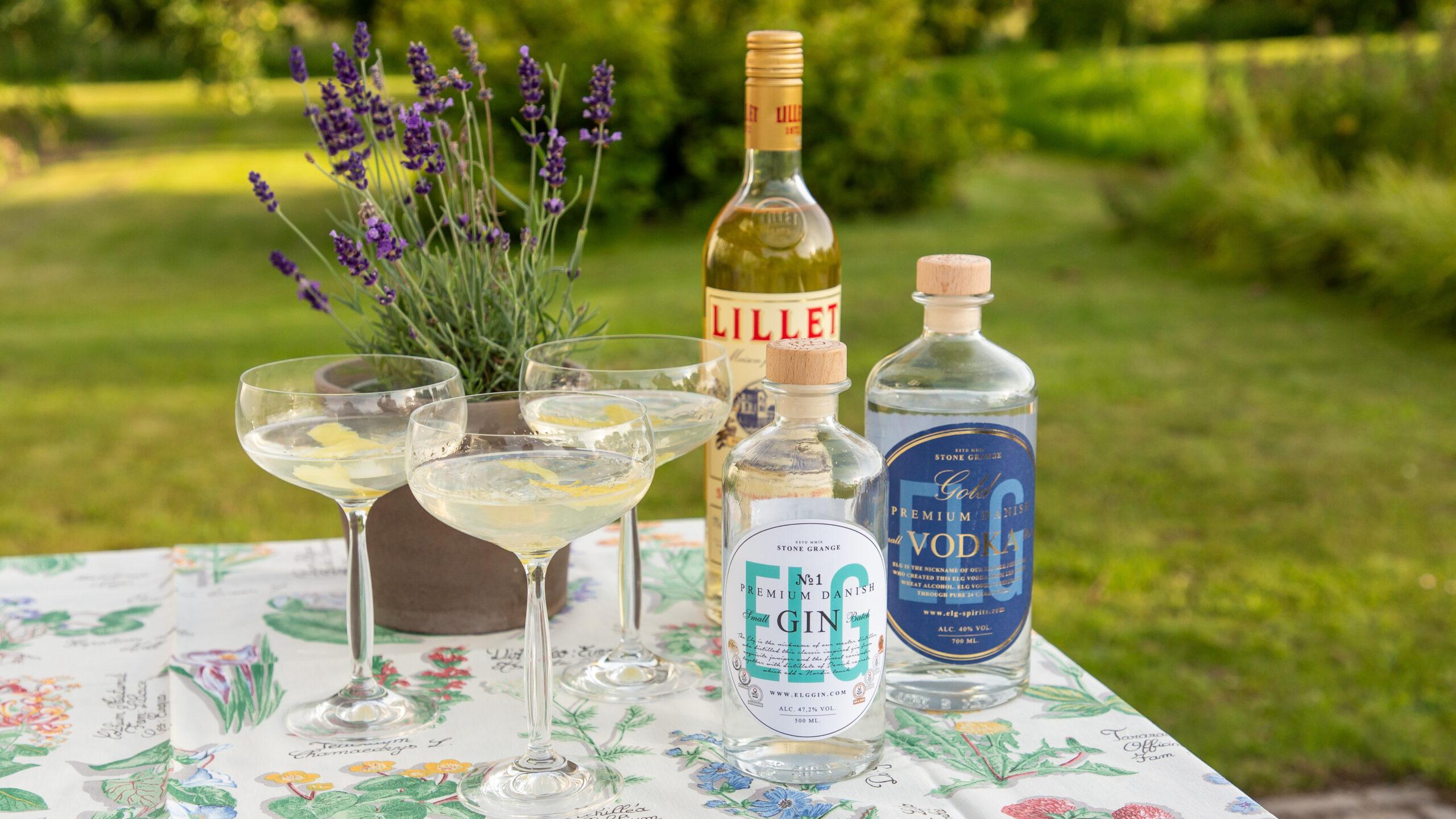 The ultimative Bond drink – Vodka Martini, eller en Vesper Martini naturligvis baseret på danske produkter