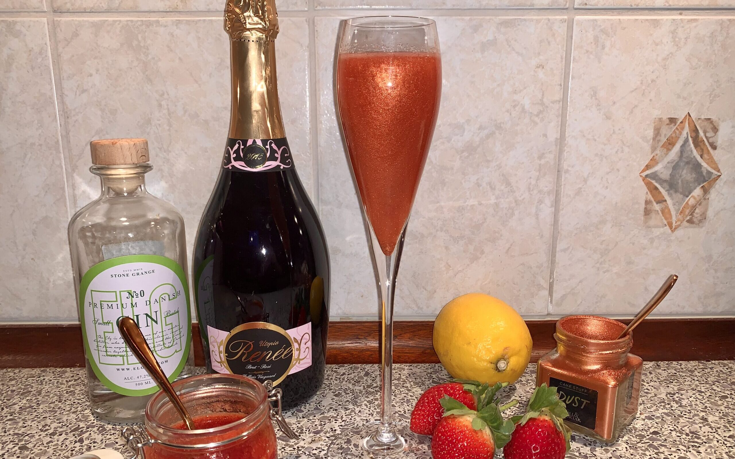 Pink French 75
